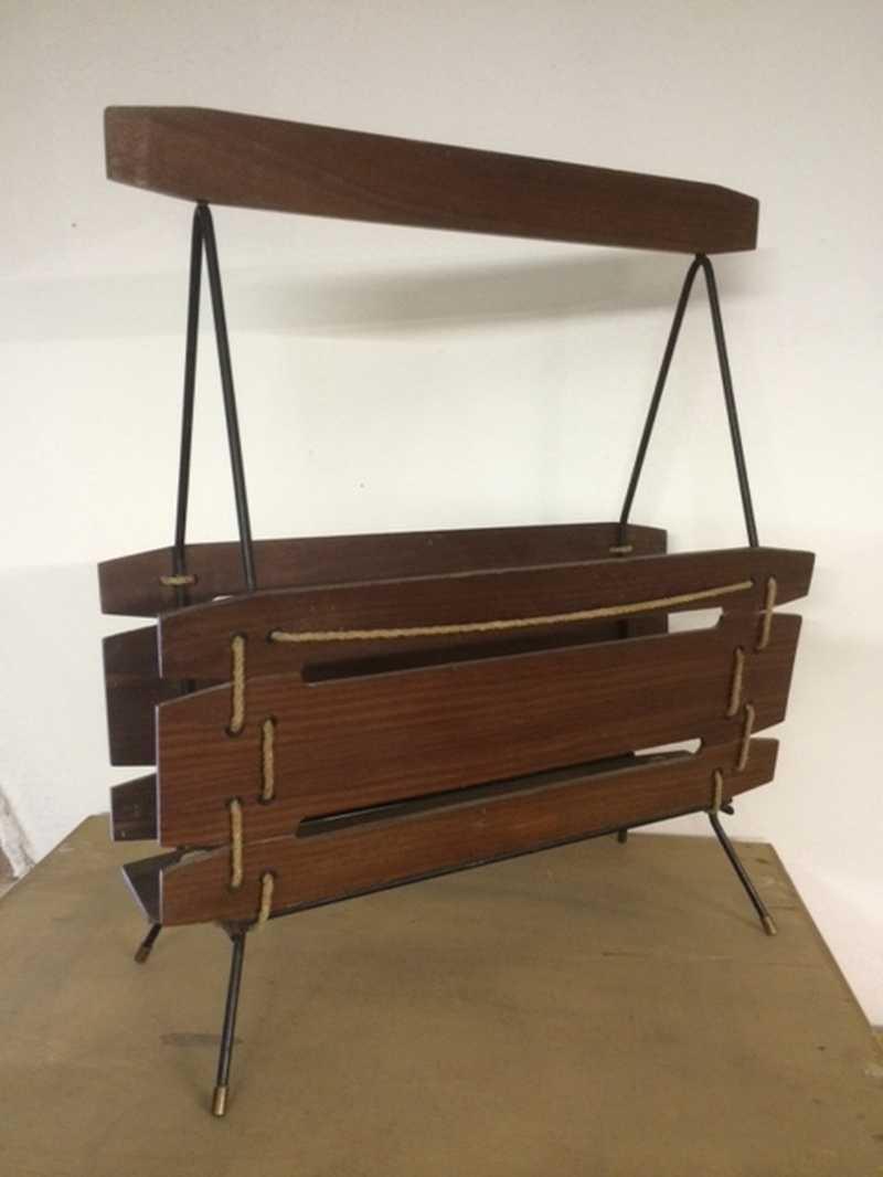 Portariviste anni 50 laboratorio vintage for Poltrone anni 50 60 vendita