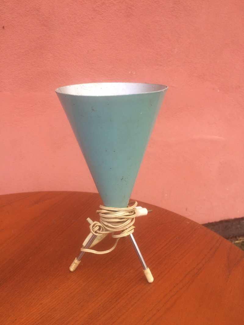 Anni 50: Lampada piantana luce vintage vetro di murano mazzega design ...