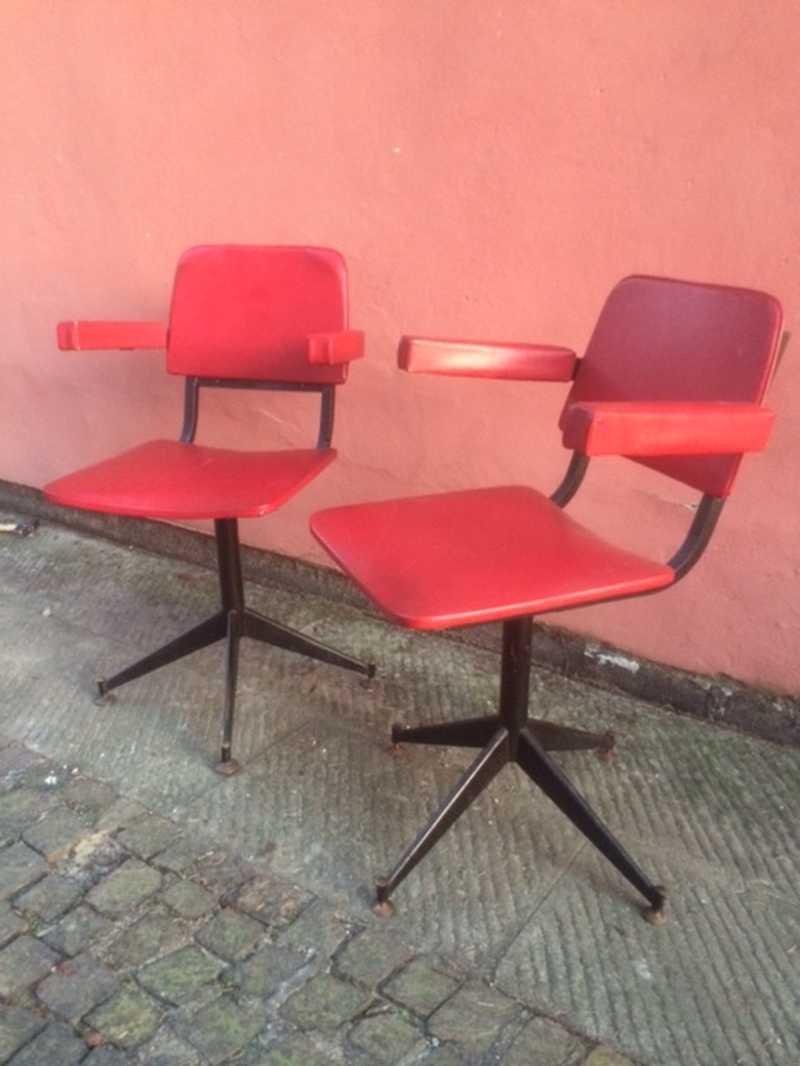 Poltroncine anni 50 coppia laboratorio vintage for Vendita mobili modernariato
