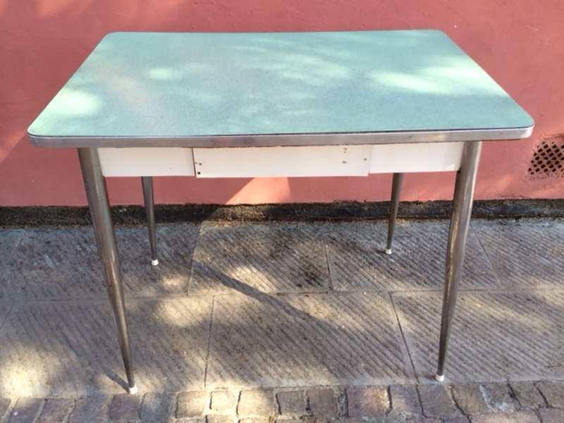 Tavolo anni '60 in formica H80 piano 140×80