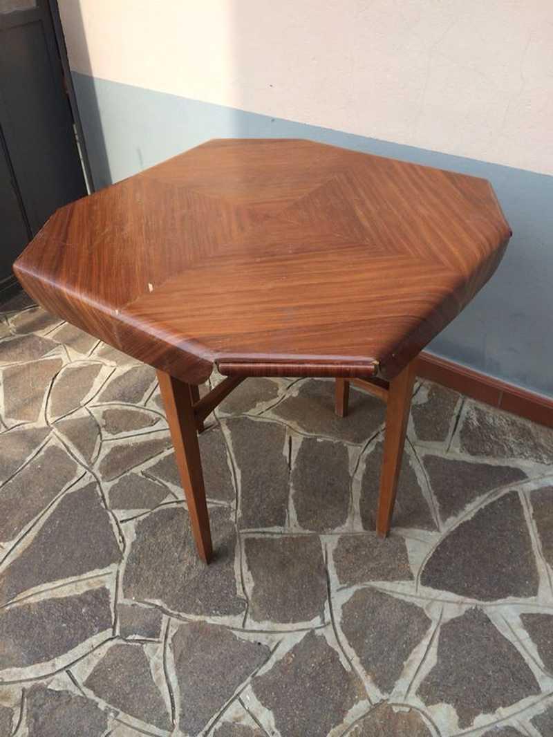 Tavolo da gioco anni 50 laboratorio vintage for Tavolini anni 50