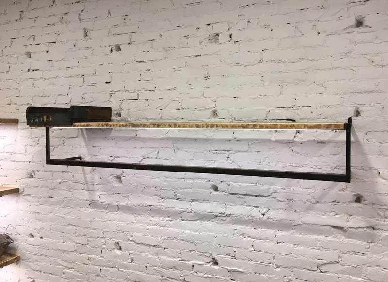 Appenderia A Muro.Appenderia A Parete Con Mensola Nostra Produzione Laboratorio Vintage