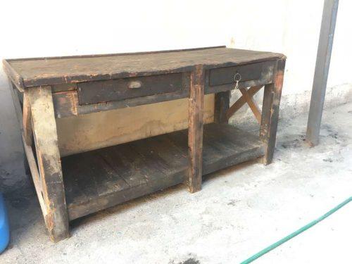 Tavoli Da Lavoro Vintage : Banco da lavoro mobile makers at work