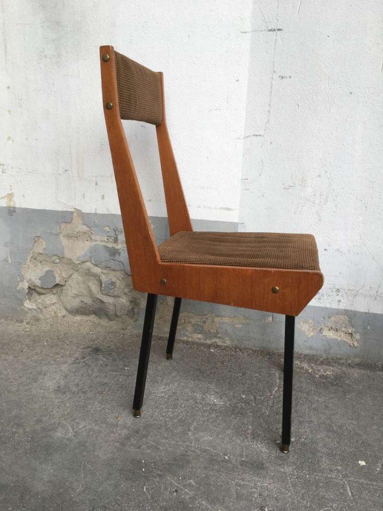 Sedie anni 50 2 pezzi rimasti laboratorio vintage - Sedie design anni 50 ...