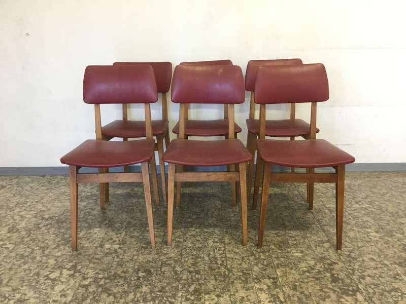 Sedie anni 50 4 pz rimasti laboratorio vintage - Sedie design anni 50 ...