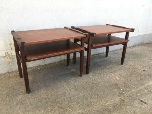 Tavolini comodini anni 50 h42 lxl 52 39 laboratorio for Tavolini anni 50