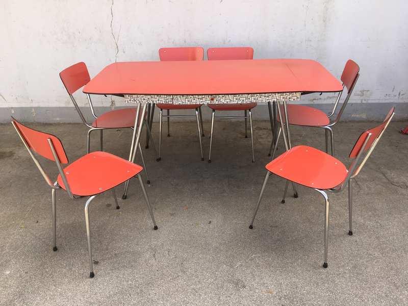 Sedie Vintage Anni 50 : Tavolo formica anni excellent with tavolo formica anni