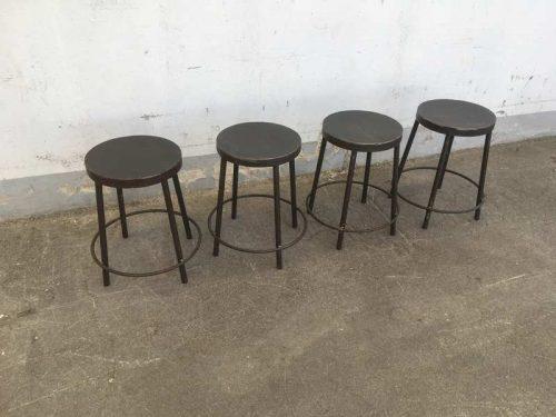 Sgabelli stile industriale nostra produzione h45 u2013 laboratorio vintage