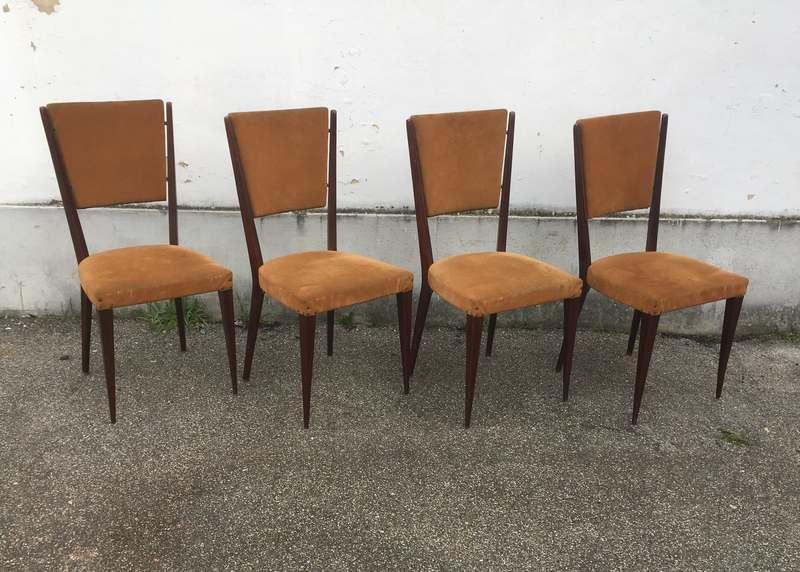 Sedie Vintage Anni 50 : Sedie anni 50 u2013 4 pezzi u2013 laboratorio vintage