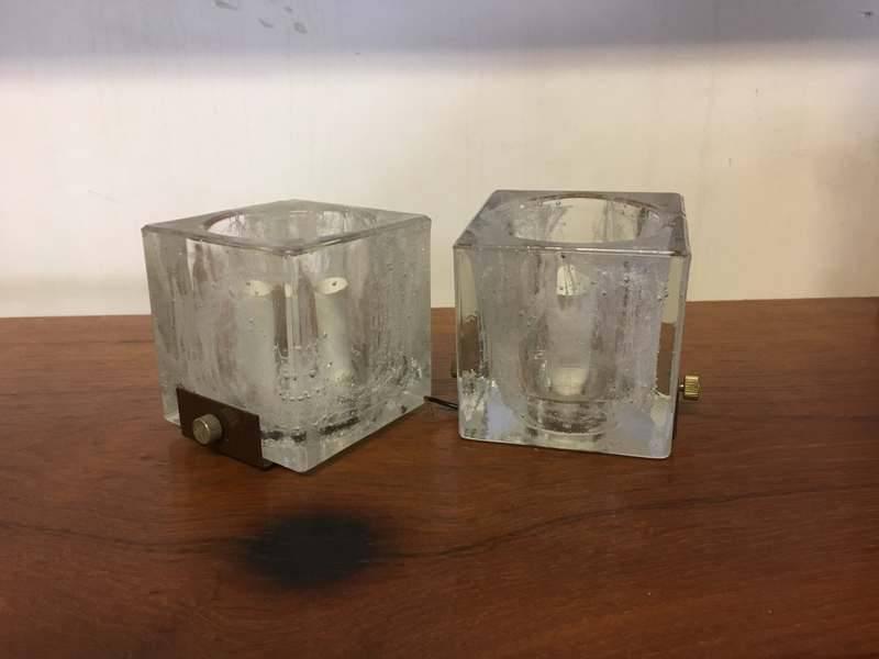 Applique vetro vintage: vintage lampada applique da parete montaggio