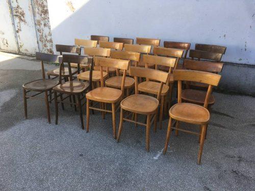 Sedie da osteria vintage - LABORATORIO VINTAGE
