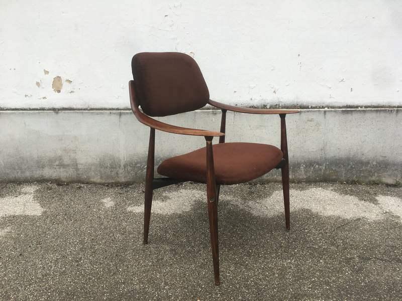 Credenza Danese Anni 50 : Poltrona anni design danese u laboratorio vintage